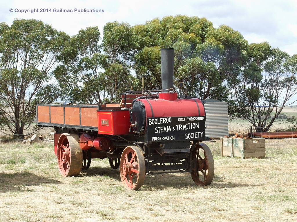 (SM 12-3-2613) 1903 Yorkshire Steam Wagon at the Booleroo Steam & Traction Society, March 2012