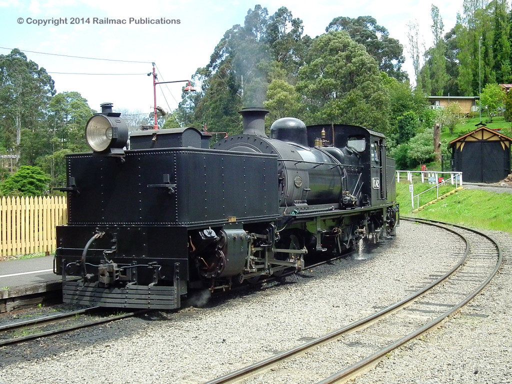 (SM 13-10-2635) G42 waiting to depart Belgrave Station, October 2013
