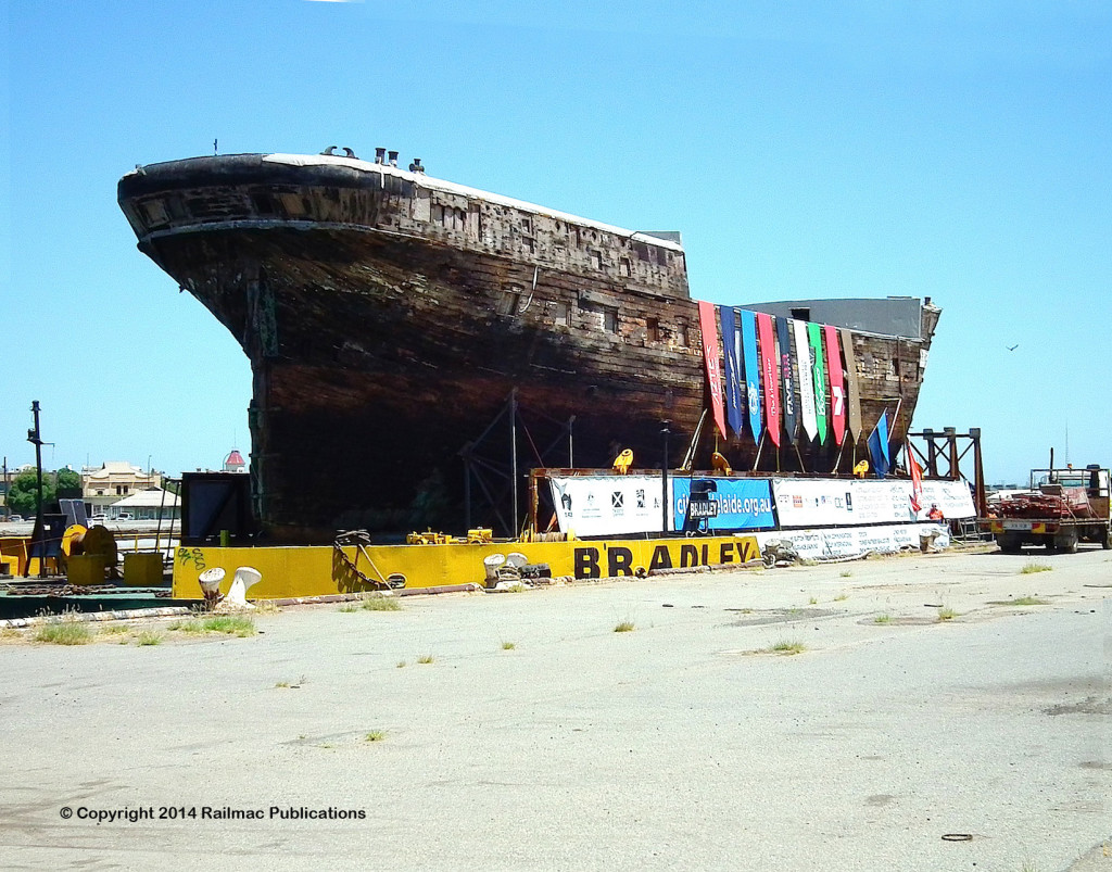 (SM 14-2-8072) The Historic Clipper Ship 'City of Adelaide', Dock 1, Port Adelaide, 7th February 2014