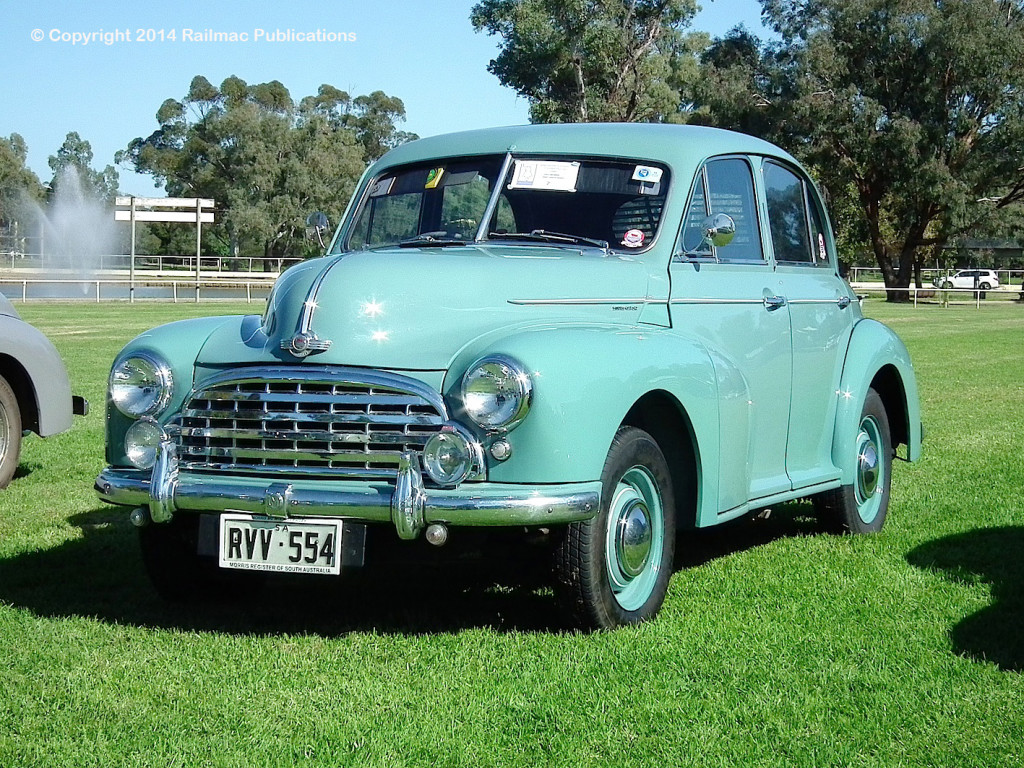 (SM 14-4-1397) 1951 Morris Oxford Series MO at the Morris Registers National Rally, Forbes (NSW) Easter 2014