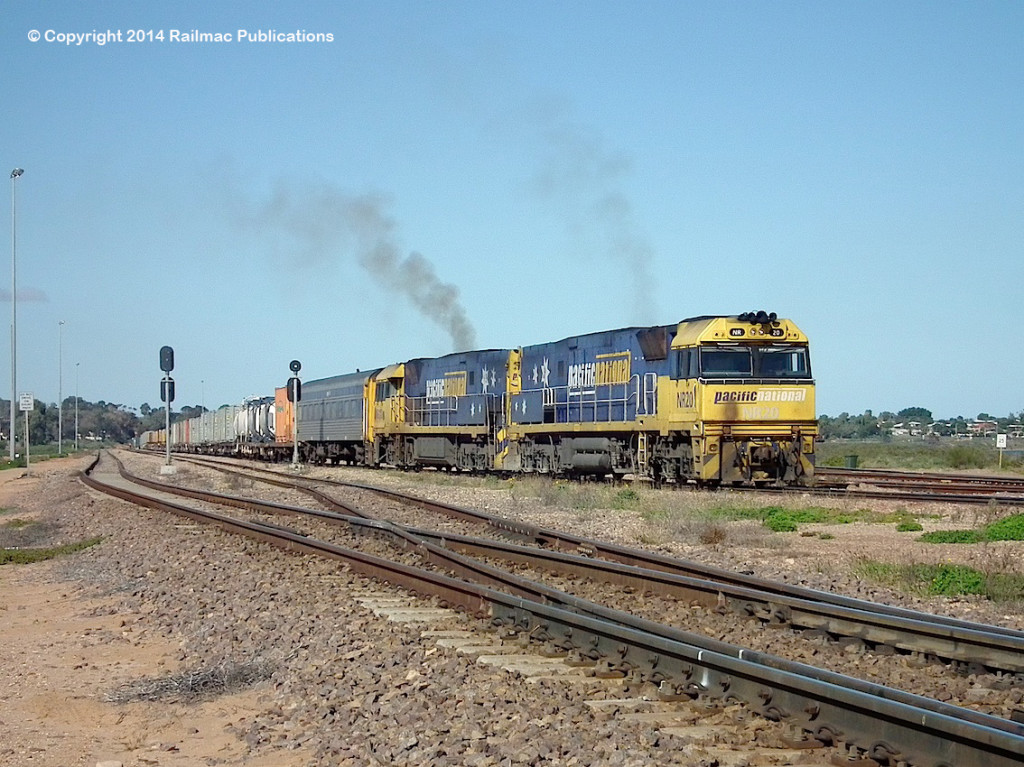(SM 14-6-3081) NR20, NR110, Spencer Junction, 6th June 2014