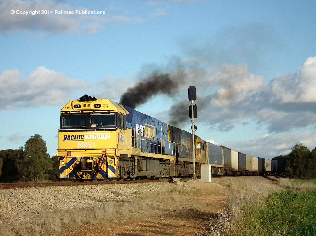 (SM 14-6-3592) NR51, NR7, Redhill, 7th June 2014