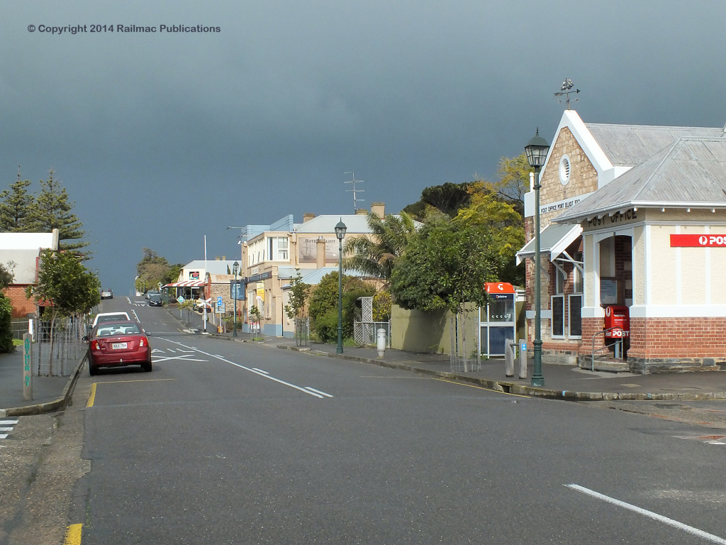 (SM 14-7-4356) Street scene, The Strand, Port Elliot (SA), July 2014