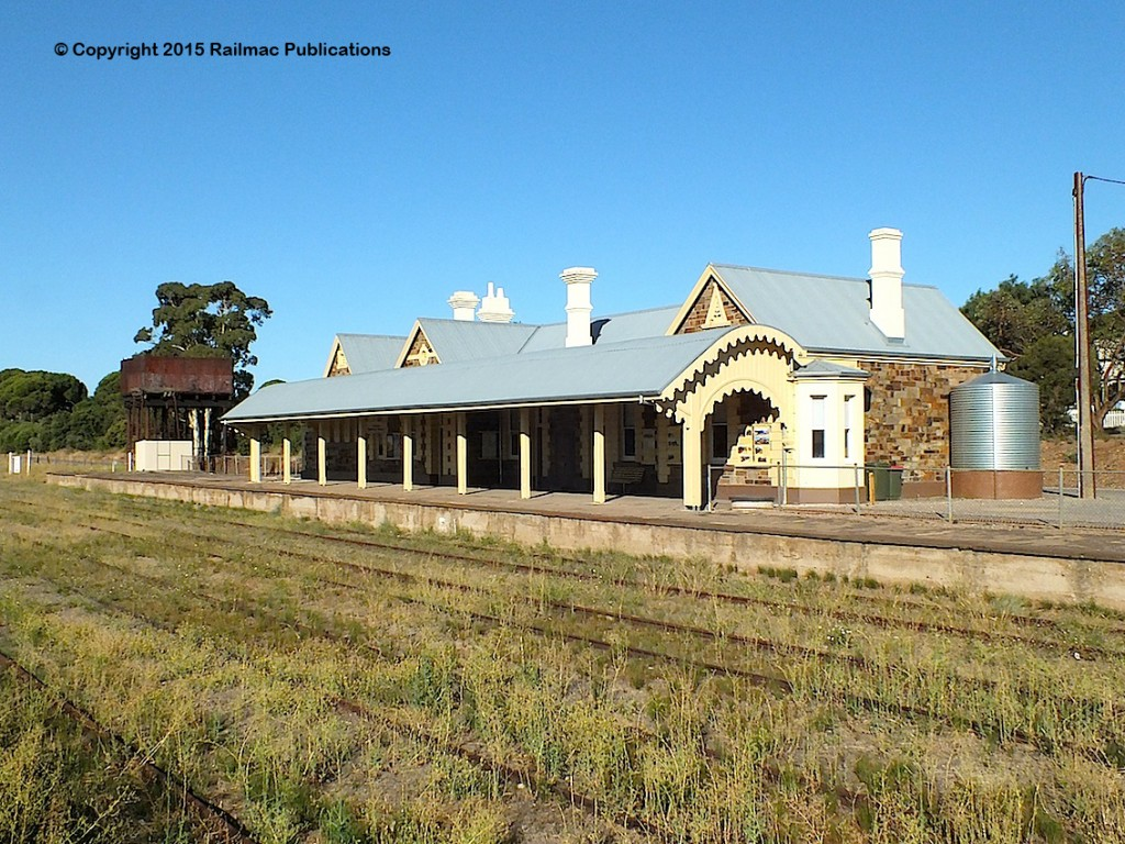 (SM 15-2-4679) The beautifully restored station at Burra (SA), February 2015
